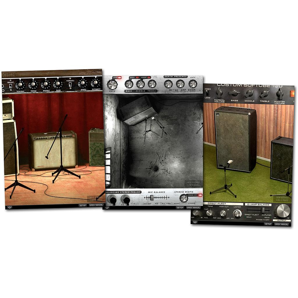 Amp Room Bundle (upg from Bass Amp Room) DL版
