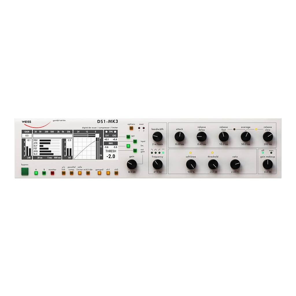 Weiss DS1 MKIII upgrade from Weiss Compressor DL版